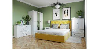 Wygodna łóżka tapicerowane
